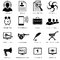 Stock Image : Different icons for advanced designers