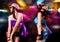 Stock Image : Disco dance 1