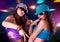 Stock Image : Disco dance 2