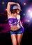 Stock Image : Disco dance 5