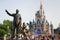 Stock Image : Disney Castle in magic kingdom