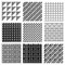 Stock Image : Dither Patterns