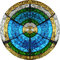 Stock Image : Divine circle