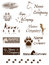 Stock Image : Dog company logo