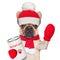 Stock Image : Donation dog