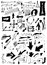 Stock Image : Doodle arrow collection isolated on white