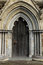 Stock Image : Doorway in Salisbury Cathedral