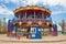 Stock Image : Double decker carousel at children amusement park