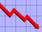 Stock Image : Downward Trend