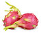 Stock Image : Dragon fruit or pitaya isolated on white