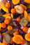 Stock Image : Dried fruits close up