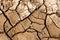 Stock Image : Dry soil