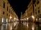 Stock Image : Dubrovnik by night (Stradun)