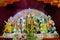Stock Image : Durga Puja festival in Kolkata, India