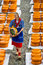 Stock Image : Dutch Cheese Market in Gouda