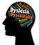 Stock Image : Dyslexia, Learning Disabilities