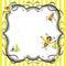 Stock Image : Dziecka pszczoły śliczna zaproszenia przyjęcia prysznic