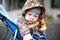 Stock Image :  Dziecko w frachcie