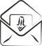 Stock Image : E-mailteken