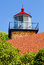 Stock Image : Eagle Bluff Lighthouse Tower
