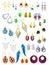 Stock Image : Earrings
