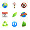 Stock Image : Earth Day Icons