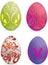 Stock Image : Easter eggs