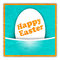 Stock Image : Easter greeting card