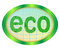 Stock Image : Eco emblem.
