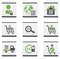 Stock Image : Ecommerce icons set