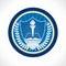 Stock Image : Education emblem