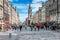Stock Image :  Edynburg ruchliwie Królewska mila, Szkocja