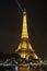 Stock Image : Eiffel Tower Spotlight