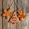 Stock Image :  Eigengemaakte de peperkoekkoekjes van Kerstmis
