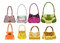 Stock Image : Eight female bags