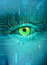 Stock Image : Electronic eye