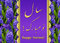 Stock Image : Elegant Happy Norooz Hyacinths