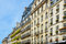 Stock Image : Elegant historic Parisian Apartment Buildings