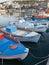 Stock Image : Elounda Harbour in Crete, Greece