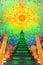 Stock Image : Emerald Pagoda