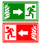 Stock Image : Emergency exit sign