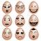 Stock Image : Emocje