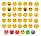 Stock Image : Emoticons ajustados