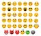 Stock Image : Emoticons set