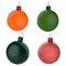 Stock Image : Empty 3d Christmas ornament