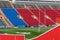 Stock Image : Empty football stadium