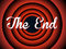 Stock Image : The end typography