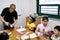 Stock Image : Engelse school in Zuid-Korea