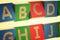 Stock Image : English capital letter