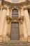 Stock Image : Entrance door of St. Nicholas Church, Prague
